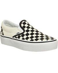 Vans Vans Mix Checkerboard Sk8-hi Sneaker in Black - Lyst 44eb70d1d