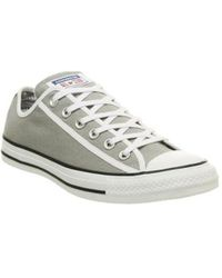 8303db7990598a Converse All Star Ox Low Star Bars in Red for Men - Lyst