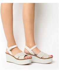 Office - Madrid Whip Stitch Wedge - Lyst
