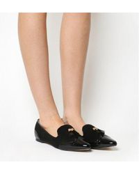 Office - Fiona Patent Toe Cap Slipper - Lyst