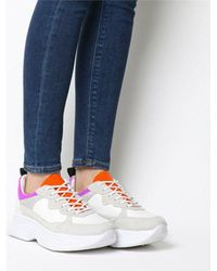 Office - Fizzled Chunky Lace Up Trainer W - Lyst