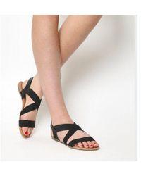 Office - Orbit Elastic Strap Sandals - Lyst