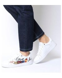 Guess - Crayz Logo Trainer - Lyst