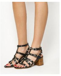 Office - Margate Studded Strappy Block Heel - Lyst