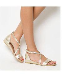 Office - Sierra- Cross Strap Sandal - Lyst