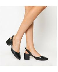 Office - Middle Two Part Block Heel - Lyst