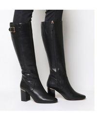 Office - Keepers- Smart Block Heel Knee Boot - Lyst