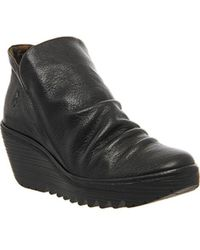 Fly London - Yip Wedge Ankle Boot - Lyst