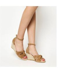 Office - Mauritius Knot Front Wedge - Lyst