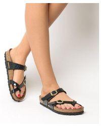 Birkenstock - Mayari Cross Strap Sandal - Lyst