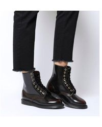 582bf2a19560 Dr. Martens Capper Boots in Brown - Lyst