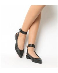 Office - Fusion Weave Point Ankle Strap - Lyst