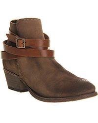 H by Hudson - Hudson London Horringan Strap Ankle Boots - Lyst