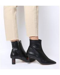 Office - Afflict- Cylindrical Heel Boot - Lyst