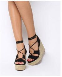Office - Hula Hula Ghillie Espadrille Wedge - Lyst