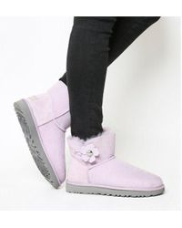 UGG - Mini Bailey Button Poppy - Lyst