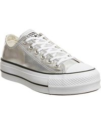 best authentic 52c1a 6e851 Converse - All Star Low Platform - Lyst