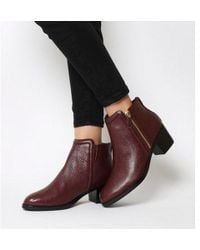 Ted Baker - Jyion Zip Boots - Lyst
