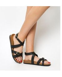 Office - Sahara- Ankle Strap Footbed - Lyst