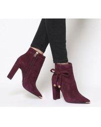 e191895debc6 Lyst - Women s Ted Baker Heel and high heel boots On Sale