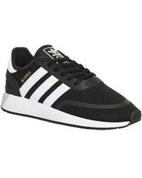 lyst adidas originals originale superstar 80er trainer schwarz