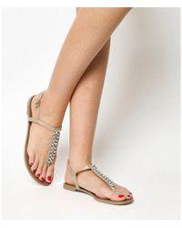 Office - Sprinkles Toe Post Sandals - Lyst