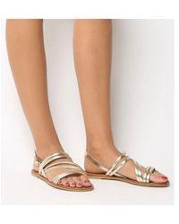 Office - Swirl- Asymmetric Strap Sandal - Lyst