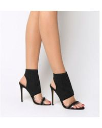Office - Highroad Knit Shoe Boots - Lyst