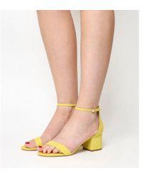 Office - Finley Block Heel Sandal - Lyst
