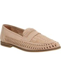 Office - Bow Weave Slip On - Lyst