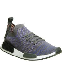 1a396d5b31e adidas - Nmd R1 Prime Knit Trainers - Lyst