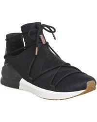 c90a4c736f4b Puma Fierce Swan Sneakers in Black for Men - Lyst