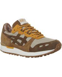 Asics - Brown Lyte Ymc Suede Sneakers - Lyst