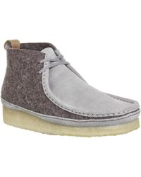 Clarks - Wallabee Boots - Lyst