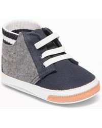 Old Navy - Color-blocked Varsity-style High-tops - Lyst