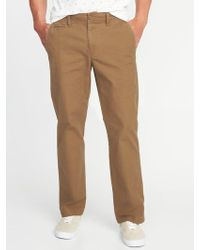 Old Navy - Loose Lived-in Built-in Flex Khakis - Lyst