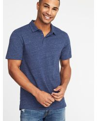 Old Navy - Soft-washed Jersey Polo - Lyst