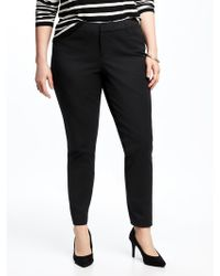 9ac439f721 Old Navy Mid-rise Secret-slim Pockets Plus-size Pixie Ankle Pants in ...