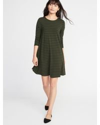 Old Navy - Jersey Swing Dress - Lyst
