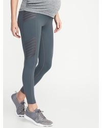 1888662c49775 New Balance Captivate 7/8 Moto Tights in Blue - Lyst