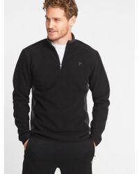Old Navy - Go-warm Performance Fleece 1/4-zip Pullover - Lyst