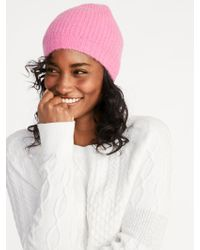 Old Navy - Soft-brushed Sweater-knit Beanie - Lyst