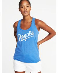 d7dd892dc0a40 Lyst - Old Navy Mlb® Team-graphic Tank in Red