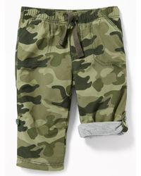 Old Navy - Jersey-lined Pull-on Hybrid Pants - Lyst