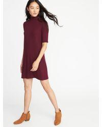 ff64ec2388d Lyst - Old Navy Maternity Sweater-knit Dress in Gray