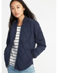 Old Navy - Lightweight Quilted Jacket - Lyst