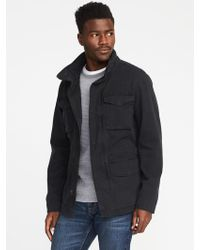 Old Navy - Garment-dyed Built-in-flex Twill Jacket - Lyst