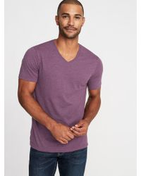 Old Navy - Soft-washed Perfect-fit V-neck Tee - Lyst