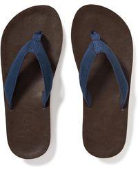 Old Navy - Webbed-canvas Flip-flops - Lyst