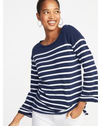 cece6eb3285 Old Navy - Relaxed French-terry Top - Lyst